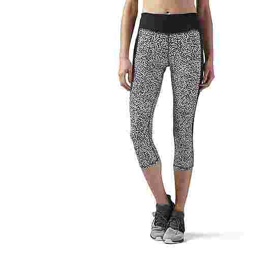 Reebok Running Essentials Capri Lauftights Damen schwarz