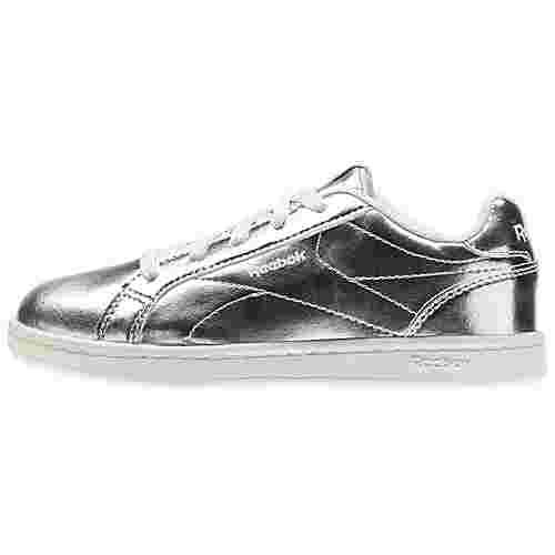 Reebok Royal Complete CLN Sneaker Kinder Silver Metallic/White