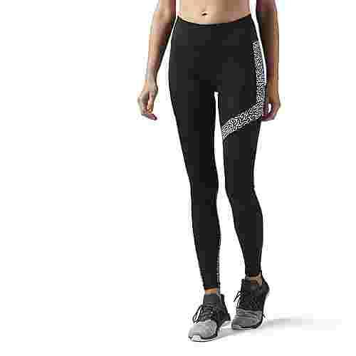 Reebok Running Essentials Leggings Lauftights Damen schwarz