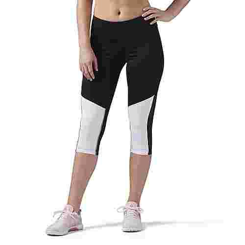 Reebok Workout Ready Capri Tights Damen schwarz