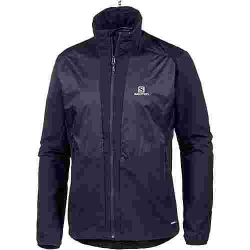 Salomon Active Wing Softshelljacke Herren night sky