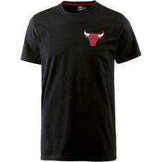 New Era Chicago Bulls T-Shirt Herren black