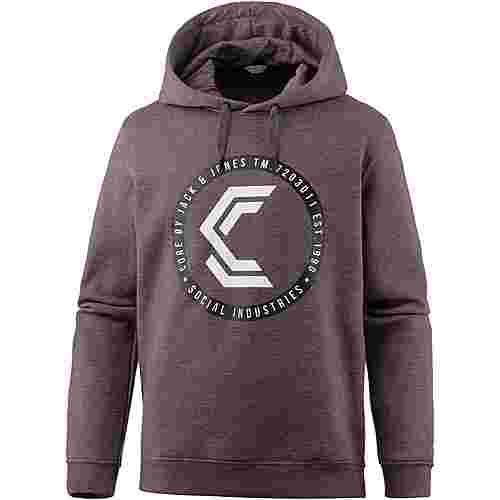CORE by JACK & JONES Hoodie Herren fudge