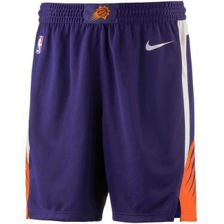 Nike PHOENIX SUNS Shorts Herren NEW ORCHID/WHITE/WHITE