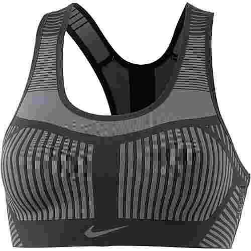 Nike Fenom Flyknit Sport-BH Damen black-dark grey