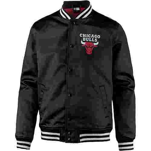 New Era Chicago Bulls Collegejacke Herren black