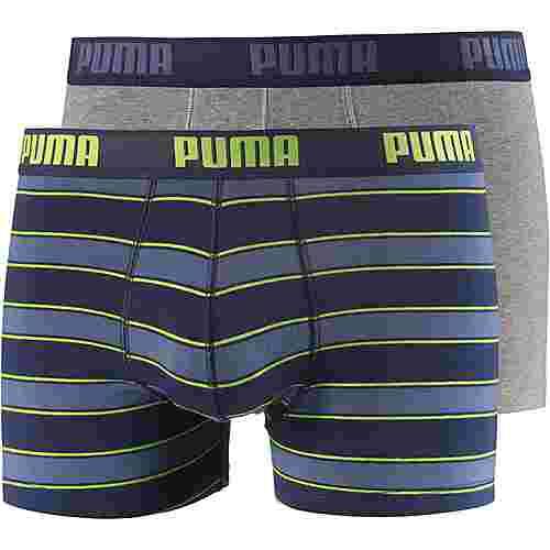 PUMA Boxer Herren blue-lime