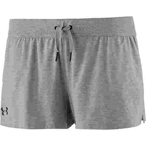 Under Armour TB12 Sleepwear Shorts Damen true-gray-heather