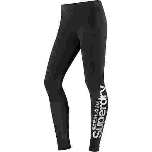 Superdry Leggings Damen Black