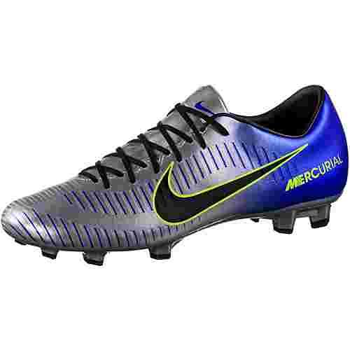 Nike MERCURIAL VICTORY VI NJR FG Fußballschuhe Herren racer blue/black-chrome-volt-volt
