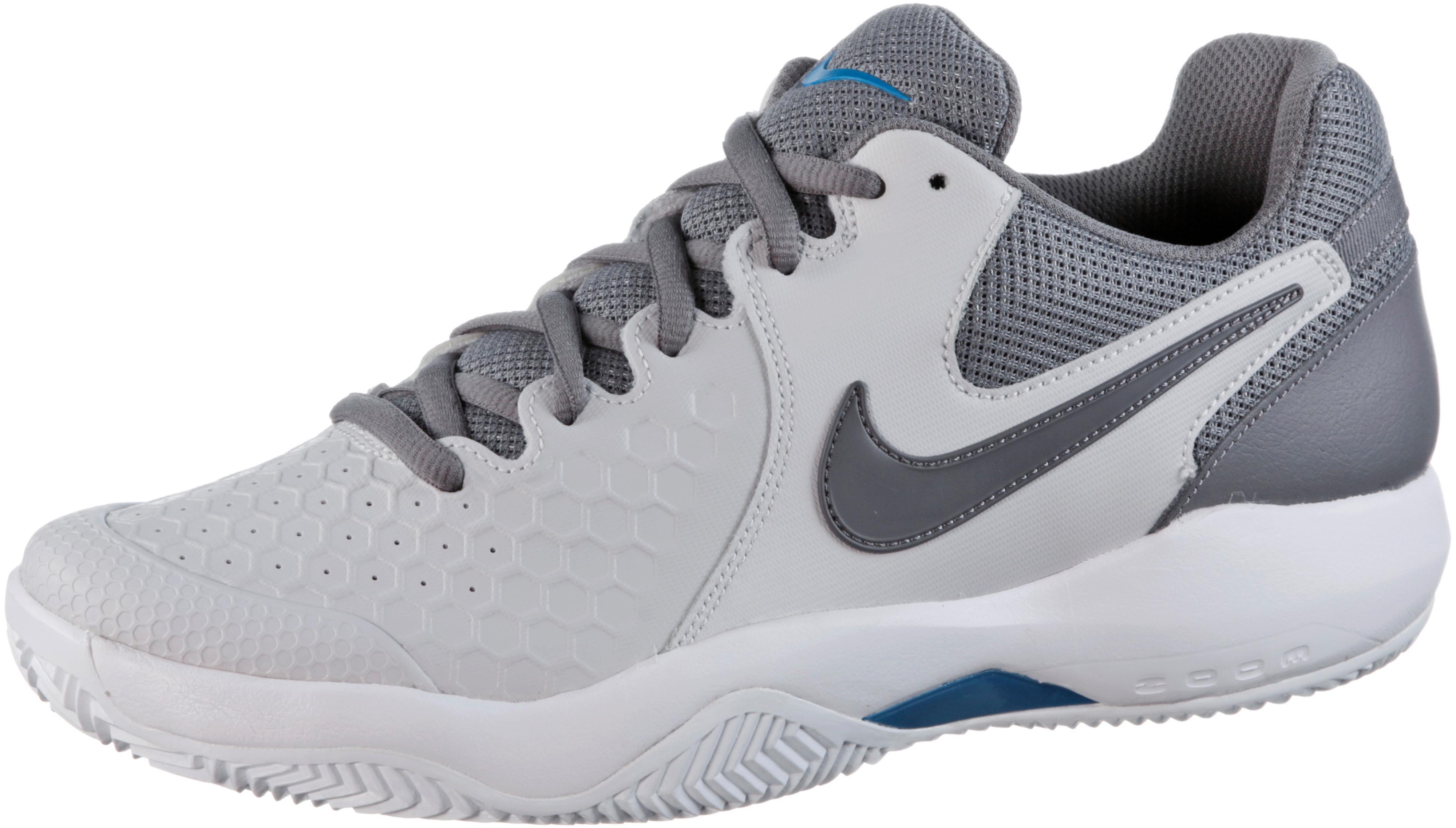 Nike NIKE AIR ZOOM RESISTANCE CLY Tennisschuhe Herren vast grey gunsmoke blue im Online Shop von SportScheck kaufen