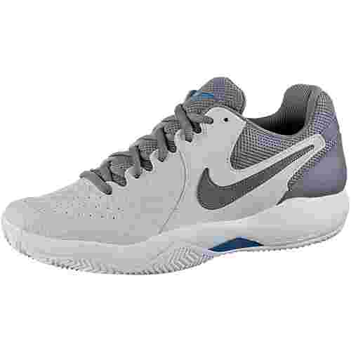 Nike NIKE AIR ZOOM RESISTANCE CLY Tennisschuhe Herren vast grey-gunsmoke blue