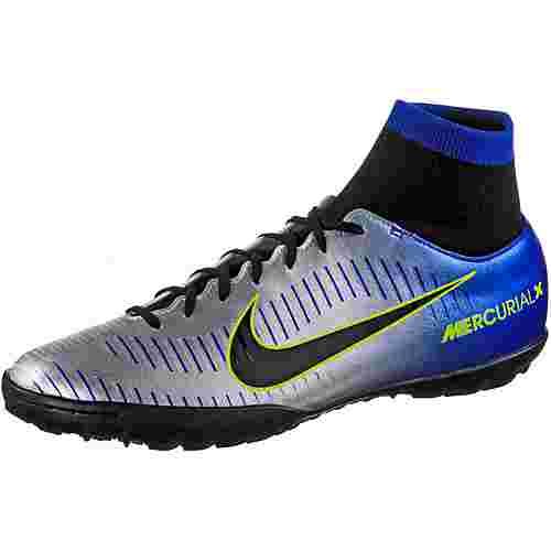 Nike MERCURIALX VICTORY 6 NJR DF TF Fußballschuhe Herren racer blue/black-chrome-volt-volt
