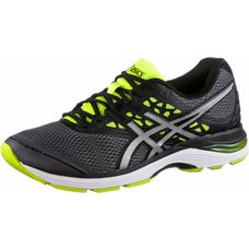ASICS GEL-PULSE 9 Laufschuhe Herren carbon-silver-safety yellow