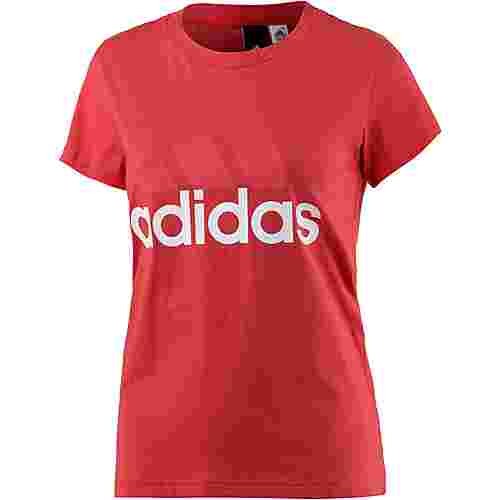 adidas Essentials T-Shirt Damen real coral
