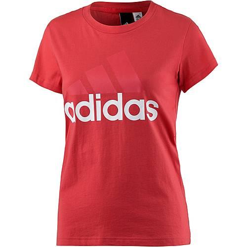 adidas Essentials T-Shirt Damen real coral