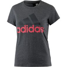adidas Essentials T-Shirt Damen dark grey