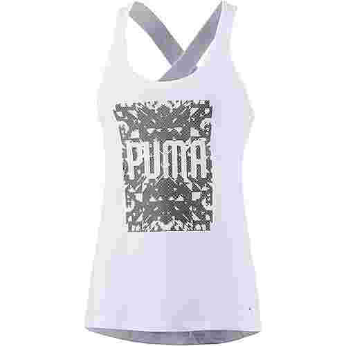 PUMA Essential Dri-Release Tanktop Damen puma white heather