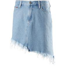Tommy Jeans Jeansrock Damen RAW DESTRUCTED LIGHT BLUE RIGID