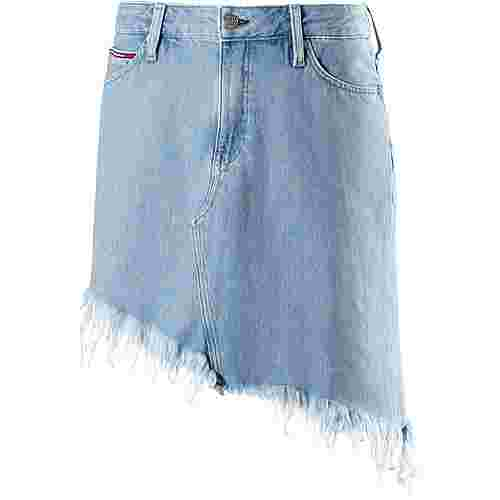 Tommy Jeans Jeansrock Damen RAW DESTRUCTED LIGHT BLUE RIGID