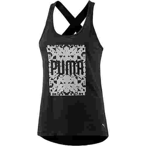 PUMA Essential Dri-Release Tanktop Damen puma black heather