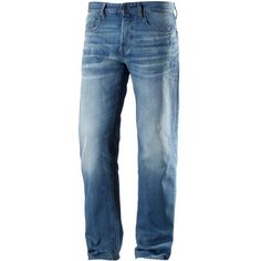 G-Star 3301 Loose Fit Jeans Herren fleck denim