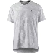 Nike Tennisshirt Herren vast grey-black