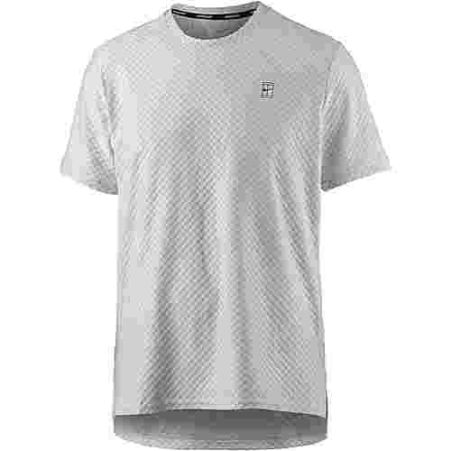 Nike Tennisshirt Herren vast grey-black
