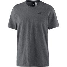 adidas Essential Base T-Shirt Herren dark-grey-heather