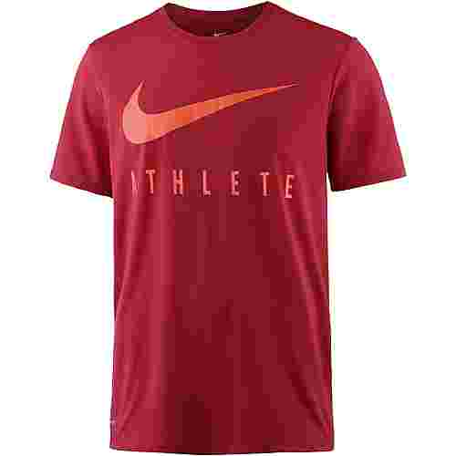 Nike Dry Funktionsshirt Herren gym-red-hyper-crimson