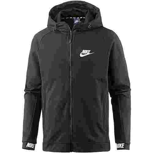 Nike NSW AV15 Sweatjacke Herren black-black-white
