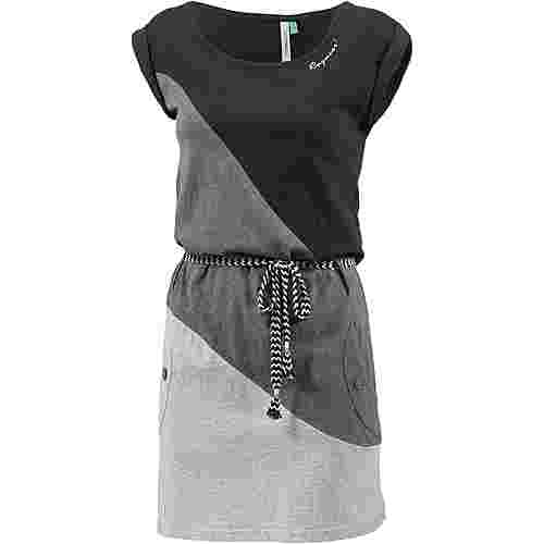 Ragwear TAG BLOCK A ORGANIC Jerseykleid Damen black