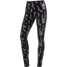 Nike Club Leggings Damen black-barely rose