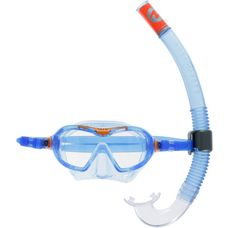 AQUA LUNG Combo Mix Schnorchelset Kinder blau