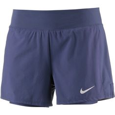 Nike Flex Pure Tennisshorts Damen blue recall-white