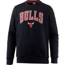 New Era Chicago Bulls Sweatshirt Herren black