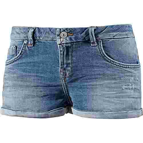 LTB Jeansshorts Damen ansel wash