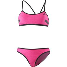 adidas Bustierbikini Damen shock pink