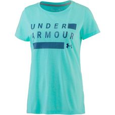 Under Armour Threadborne Train Funktionsshirt Damen tropical tide-academy-metallic silver