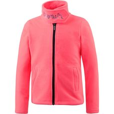 Bench Fleecejacke Kinder neon pink
