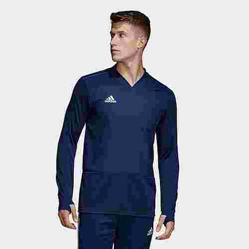 adidas Condivo 18 Player Focus Trainingsobertei Sweatshirt Herren Dark Blue/White