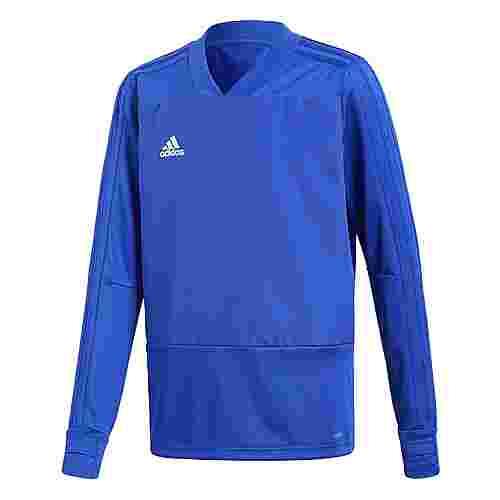 adidas Condivo 18 Player Focus Fußballtrikot Kinder Bold Blue/White