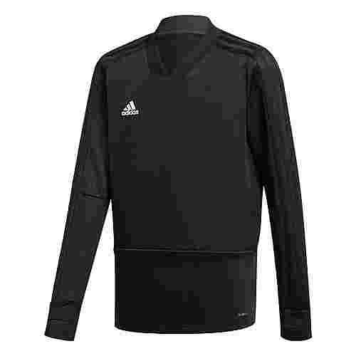 adidas Condivo 18 Trainingsoberteil Langarmshirt Kinder Black / White