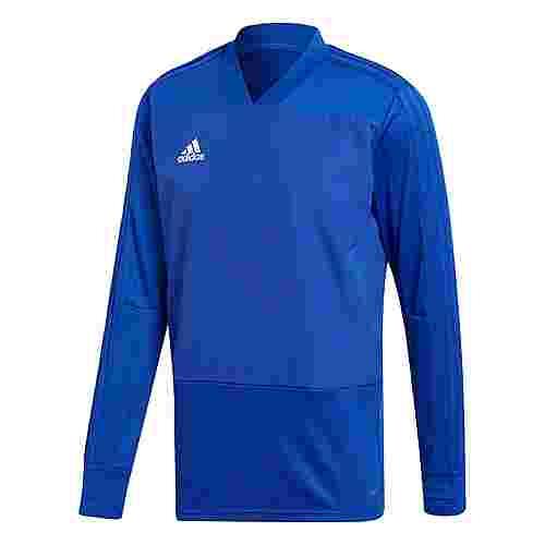adidas Condivo 18 Player Focus Sweatshirt Herren Bold Blue/White