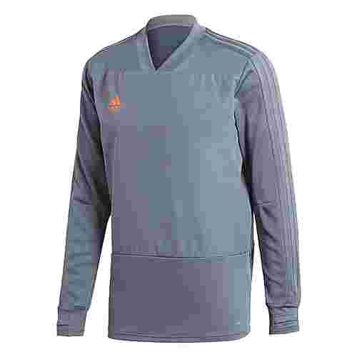 adidas Condivo 18 Player Focus Sweatshirt Herren Grey/Orange