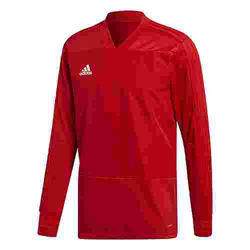 adidas Condivo 18 Player Focus Sweatshirt Herren Power Red/White