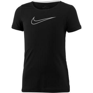 Nike Funktionsshirt Kinder black-black-white