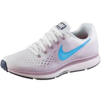 Nike AIR ZOOM PEGASUS 34 Laufschuhe Damen summit-white-equator-blue-elem