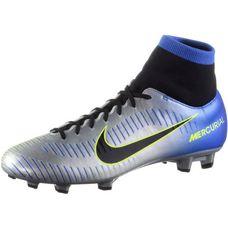Nike MERCURIAL VICTORY VI NJR DF FG Fußballschuhe Herren racer blue/black-chrome-volt-volt