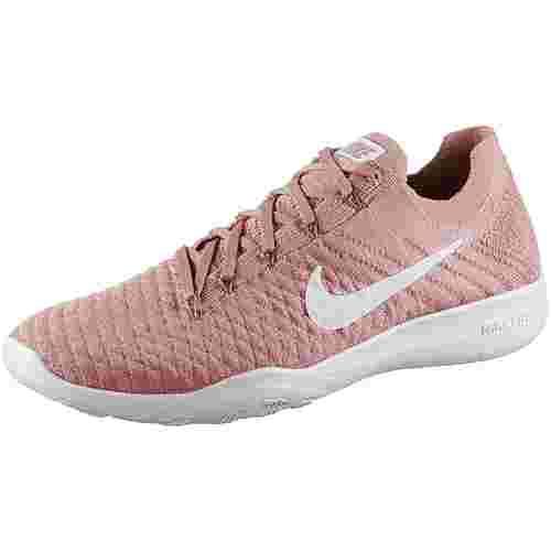 Nike Free TR Flyknit 2 Fitnessschuhe Damen rust pink-white